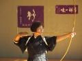 福田先生、斎藤先生による一つ的射礼