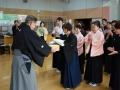 表彰式:優勝・斎藤先生