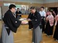 表彰式:白扇の部・直井会長