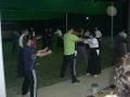 ゴム弓の練習(大人数のため矢道も使いました)