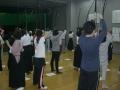 弓による素引き練習