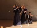 板橋先生の錬士昇格者披露目の射礼