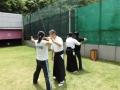 矢道からの行射練習
