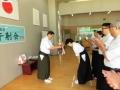 前年の優勝チーム代表内野さんによる優勝杯返還