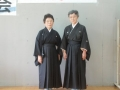 今年喜寿を迎えられる矢野さかゑさん(左)と金井チヱ子さん