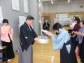 白扇:篠田好美さん