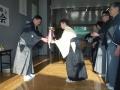 前年優勝清水由紀子さんより会長杯返還