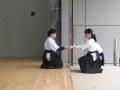 納射 第一介添:清水由紀子さん 第二介添:山上美優さん