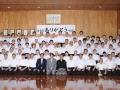 参加者全員で記念撮影(富士見市弓道連盟ホームページより)